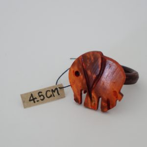 Sunset Elephant Coconut Ring