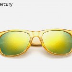 Bamboo Sunglasses - Gold Mercury