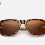 Bamboo Sunglasses - Leopard