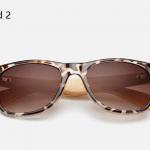 Bamboo Sunglasses - Leopard 2
