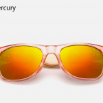 Bamboo Sunglasses - Red Mercury