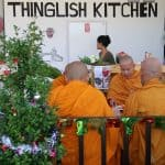 Monks eat 2